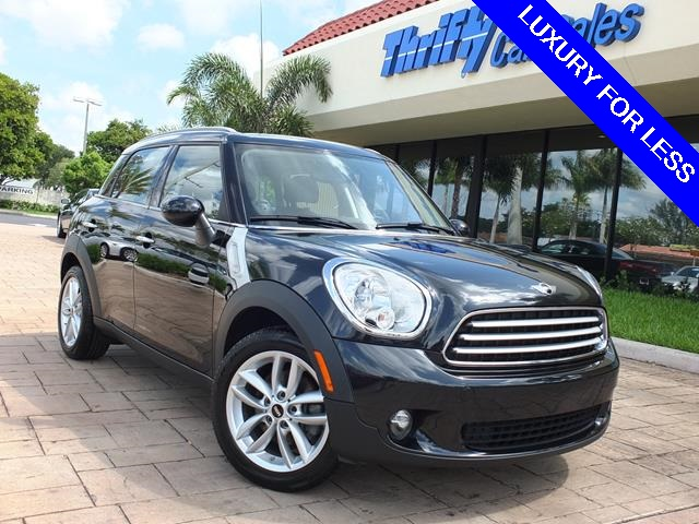 2012 Mini Cooper Countryman Base Black ONE OWNER LEATHER AUTOMATIC LOW MILES