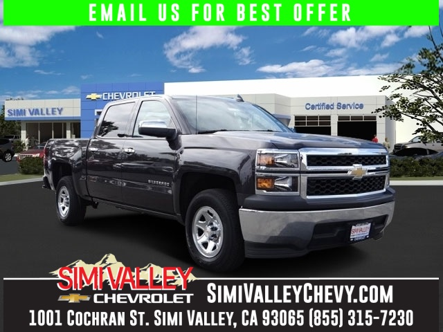 2015 Chevrolet Silverado 1500 Talk about a deal Switch to Simi Valley Chevrolet NEW ARRIVAL
