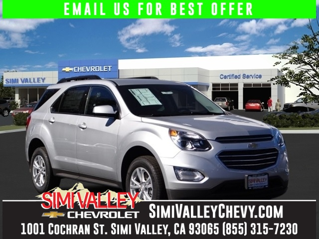 2016 Chevrolet Equinox LT Silver Hold on to your seats Why pay more for less NEW ARRIVAL  T