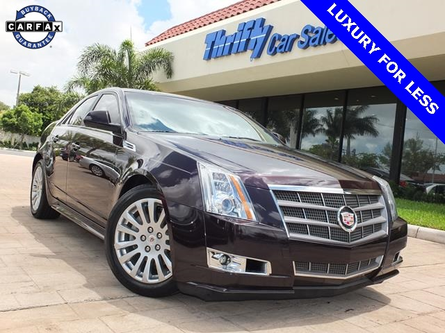 2010 Cadillac CTS Premium Red ACCIDENT FREE CARFAX LEATHER AUTOMATIC MOONROOFSU