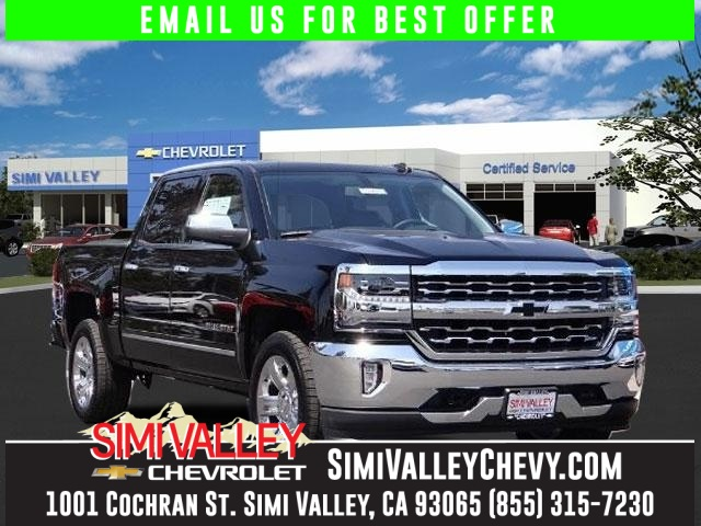 2016 Chevrolet Silverado 1500 LTZ Black Crew Cab Short Bed NEW ARRIVAL  This great 2016 Chev