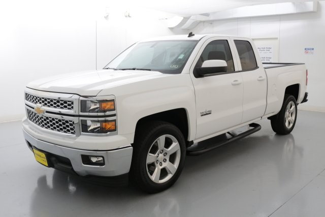 2014 Chevrolet Silverado 1500 LT White CLEAN CARFAX HISTORY REPORT 24 MPG HIGHWAY Texas Edi