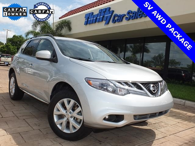 2013 Nissan Murano SV Silver ACCIDENT FREE CARFAX AUTOMATIC CERTIFIED PRE-OWNED