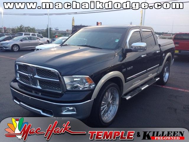 2010 Dodge Ram 1500 Laramie Black LOW MILEAGE LARAMIE PACKAGE CERTIFIED WARRANTY Tons of