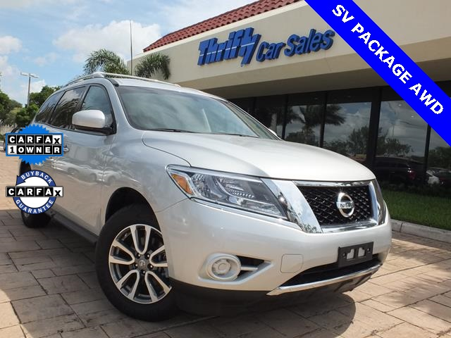 2013 Nissan Pathfinder SV ACCIDENT FREE CARFAX AUTOMATIC CERTIFIED PRE-OWNED STIL
