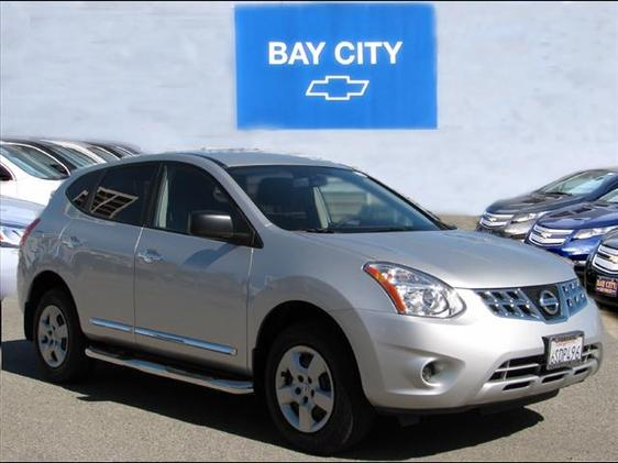 2011 Nissan Rogue S Silver ABS brakes Electronic Stability Control Illuminated entry Low tire p