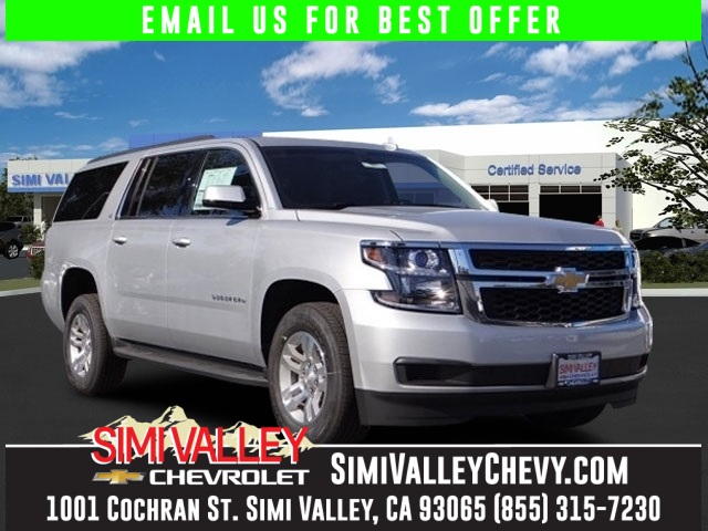 2016 Chevrolet Suburban LS Silver Flex Fuel Move quickly NEW ARRIVAL  This terrific-looking