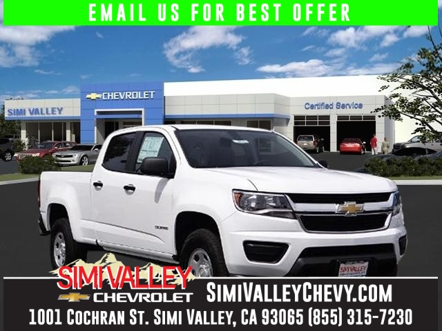2016 Chevrolet Colorado Work Truck White Short Bed Crew Cab NEW ARRIVAL  You wont find a ni