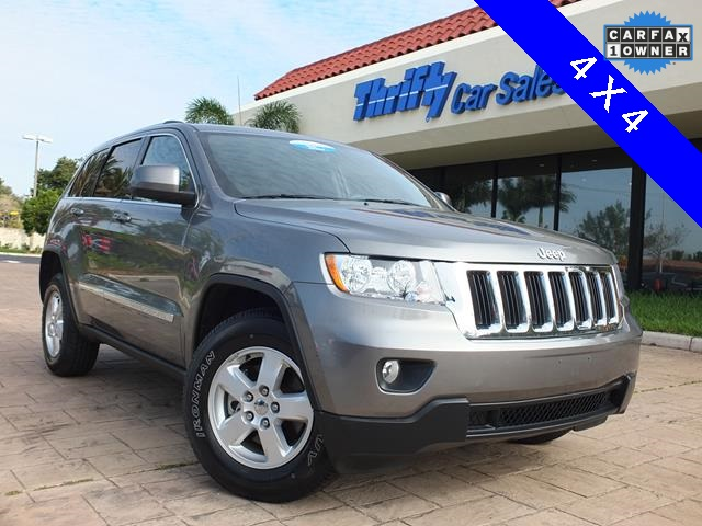 2012 Jeep Grand Cherokee Laredo Gray ACCIDENT FREE CARFAX ONE OWNER AUTOMATIC CE