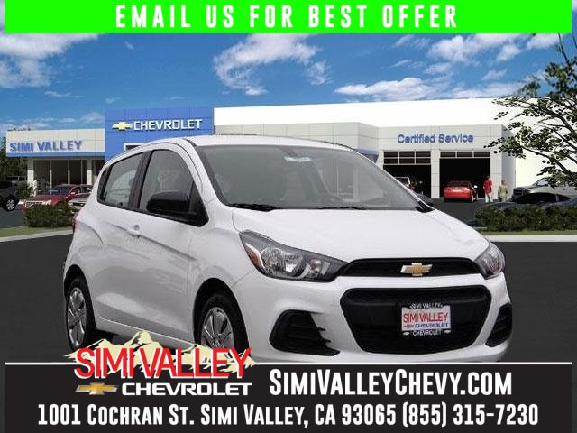 2016 Chevrolet Spark LS White Dont wait another minute Best color NEW ARRIVAL  If youre lo