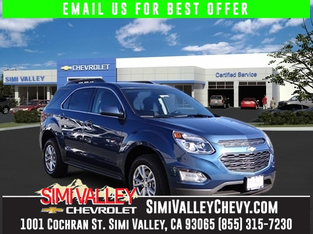 2016 Chevrolet Equinox LT Blue Join us at Simi Valley Chevrolet Dont wait another minute NEW A