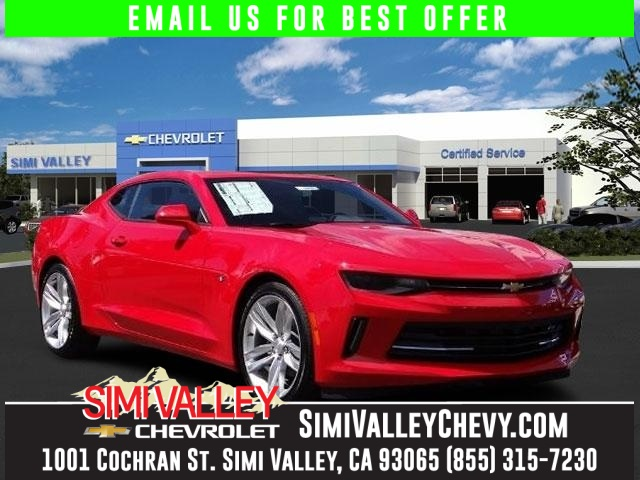 2016 Chevrolet Camaro 1LT Red Turbo Stick shift NEW ARRIVAL  Motor trend car of the year at an