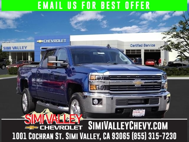 2016 Chevrolet Silverado 2500HD LT Blue Crew Cab Flex Fuel NEW ARRIVAL  If youre looking fo