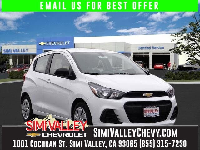 2016 Chevrolet Spark LS White Perfect Color Combination Switch to Simi Valley Chevrolet NEW ARR