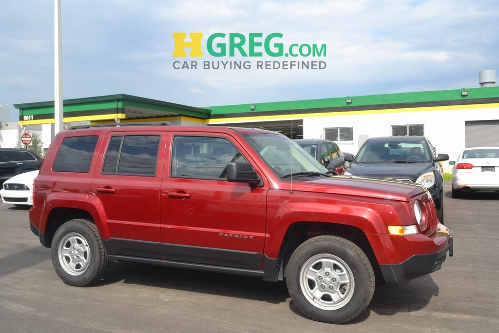 2015 Jeep Patriot Sport Red ONE OWNER BE AWARE THAT THIS VEHICLE IS PRICED 5679 UNDER