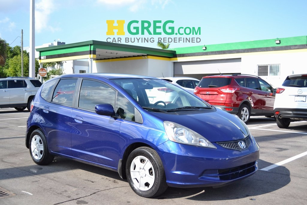 2012 Honda Fit Base Blue CLEAN CARFAX Great Easy Financing Terms for all Credits ON