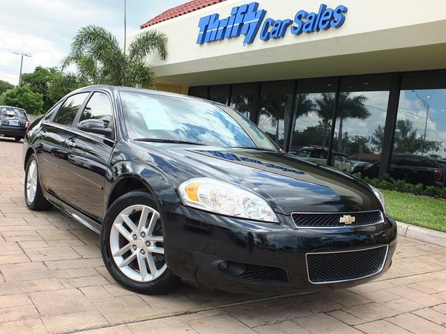 2013 Chevrolet Impala LTZ Black ACCIDENT FREE CARFAX LEATHER AUTOMATIC CERTIFIED