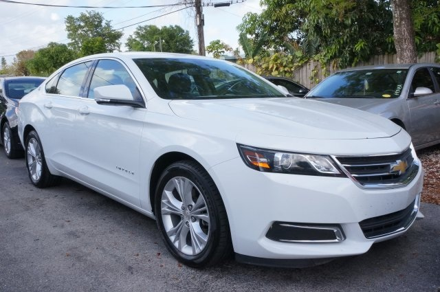 2014 Chevrolet Impala LT White Dont let the miles fool you Real Winner The Impala reaches a